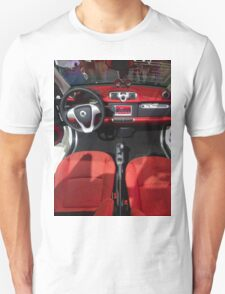 Smart ForTwo Turbo Cabrio Tritop Inside [ Print & iPad / iPod / iPhone Case ] Unisex T-Shirt