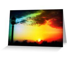 Dawn breaking © Greeting Card