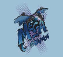 Mega Charizard X One Piece - Short Sleeve
