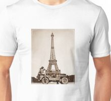 Vintage Eiffel-Tower Unisex T-Shirt