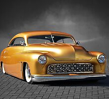 1950 Mercury Custom on B/W by DaveKoontz