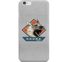 Project H.O.U.N.D. iPhone Case/Skin