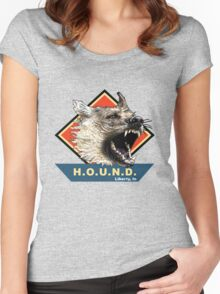 Project H.O.U.N.D. Women's Fitted Scoop T-Shirt