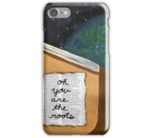 Oh, You Are the Roots That Sleep Beneath My Feet iPhone Case/Skin