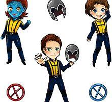 Tiny Mutants by arisupaints