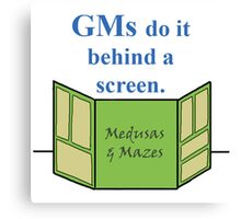 GMs Do It Canvas Print