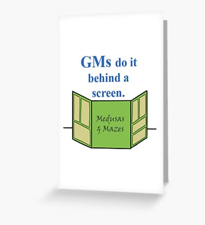GMs Do It Greeting Card