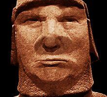 Trump Easter Island Head by EyeMagined