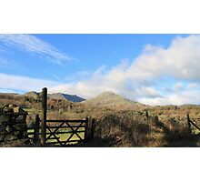 Coniston Old Man English Lake District Photographic Print