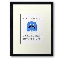 I'll Have a Blue Christmas without you~ Framed Print