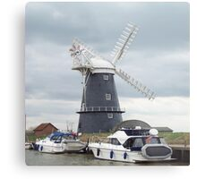 Norfolk Broads Metal Print