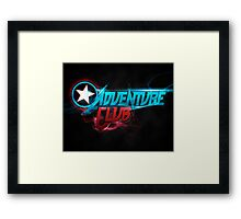 Adventure Club (Custom Poster) Framed Print