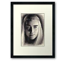 King Thranduil of Mirkwood Framed Print