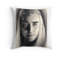 King Thranduil of Mirkwood Throw Pillow