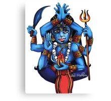 Kali's Flame Canvas Print