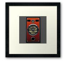 ampli / sono Framed Print