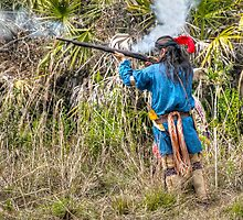 Seminole War Reenactment in South Florida by Jeremy Lavender Photography