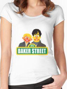 221B Baker Street - Sherlock Women's Fitted Scoop T-Shirt