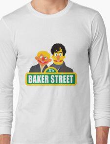 221B Baker Street - Sherlock Long Sleeve T-Shirt