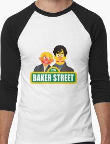 221B Baker Street - Sherlock Men's Baseball ¾ T-Shirt