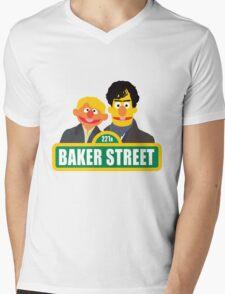 221B Baker Street - Sherlock Mens V-Neck T-Shirt