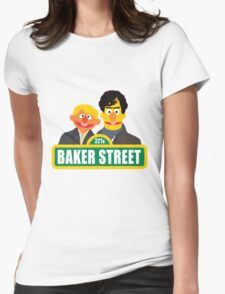 221B Baker Street - Sherlock Womens Fitted T-Shirt