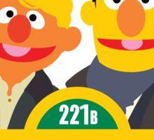 221B Baker Street - Sherlock Sticker