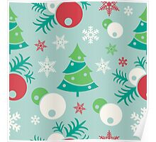 Christmas ornaments Poster