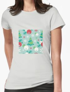 Christmas ornaments Womens Fitted T-Shirt