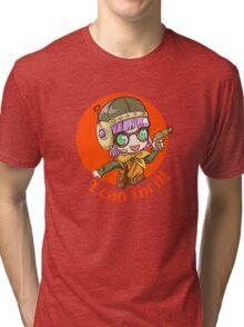 Lucca (light shirt) Tri-blend T-Shirt