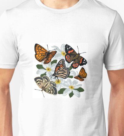 New Zealand butterflies Unisex T-Shirt