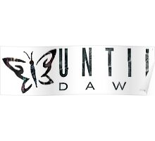 Until Dawn Character Butterfly Poster