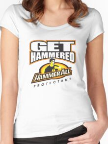 Hammerall ELE Protectant-White Women's Fitted Scoop T-Shirt