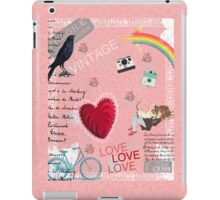 Vintage Collage iPad Case/Skin