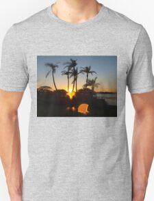 Skipping sunset Unisex T-Shirt