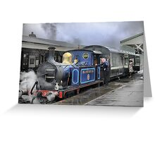 The Bluebell Rail (3) Greeting Card