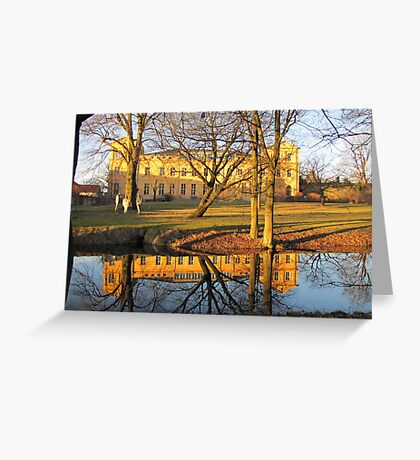 Mirrored Palace Greeting Card