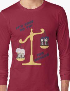 Derp Emblem: Tip the Scales Shirt Long Sleeve T-Shirt