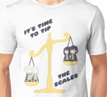 Derp Emblem: Tip the Scales Shirt Unisex T-Shirt