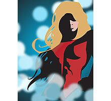 SuperGirl Photographic Print