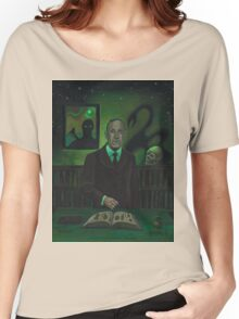 HP Lovecraft Portrait Women's Relaxed Fit T-Shirt