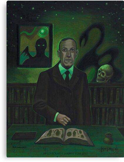HP Lovecraft Portrait by aglastudio