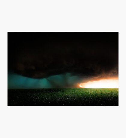 Stormy Sunrise  Photographic Print