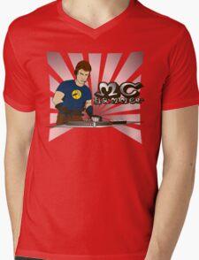 MC Hammer v1 Mens V-Neck T-Shirt