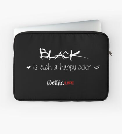 Black is such a happy color! Laptop Sleeve