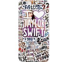 Taylor Swift Song Photo Collage iPhone Case/Skin