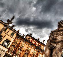 Hercules' statue by Roberto Pagani