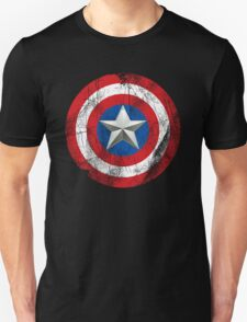 Cap America Shield with star Unisex T-Shirt
