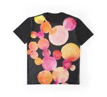 Citrus bubbles on black Graphic T-Shirt