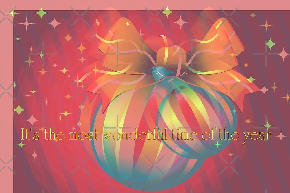 It's the Most Wonderful Time of the Year by Vickie Emms